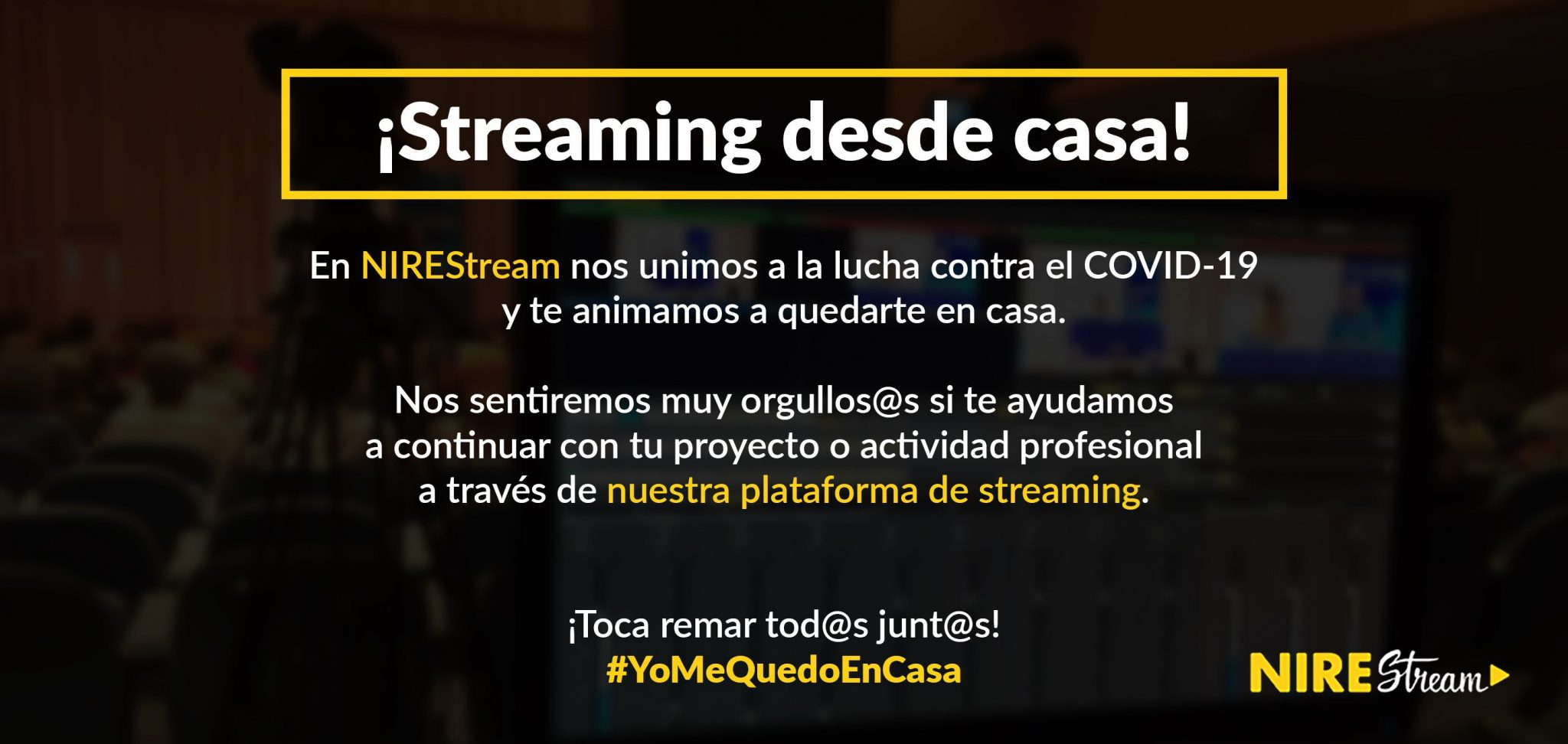 NIREStream streaming